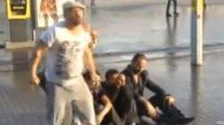 Así noquea con un chorro de agua la Policía turca a un manifestante