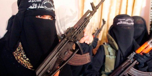 Esposas, madres y terroristas: así es el nuevo perfil de las mujeres del Estado