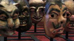 Máscaras, vestidos o ataúdes para