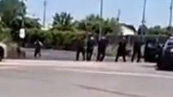 La policía de Michigan acribilla a un hombre con un cuchillo