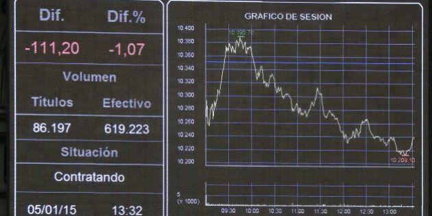 El miedo a una salida del euro de Grecia hace caer las bolsas