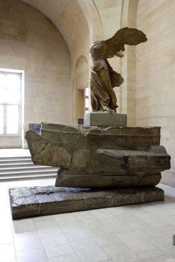 El Louvre pide donaciones para restaurar la 'Victoria de