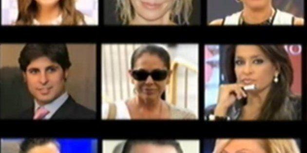 La lista de teléfonos de famosos fue publicada en internet hace al menos tres