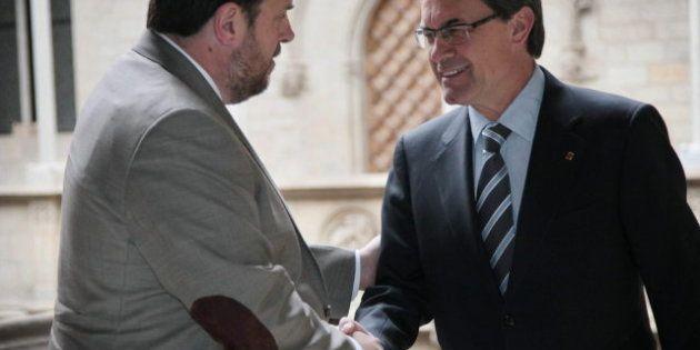 Oriol Junqueras confirma que ERC no formará coalición con CiU aunque habrá