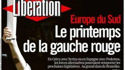 Podemos y Pablo Iglesias, portada de 'Libération':