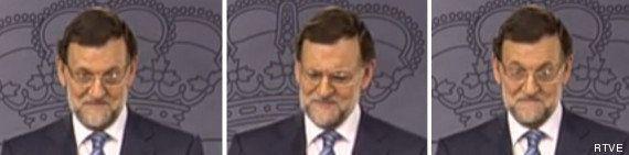 La cara que se le ha quedado a Rajoy cuando un periodista rumano le ha preguntado por Bárcenas
