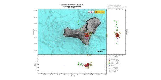 Terremoto de 5.1 grados en El Hierro, récord en la