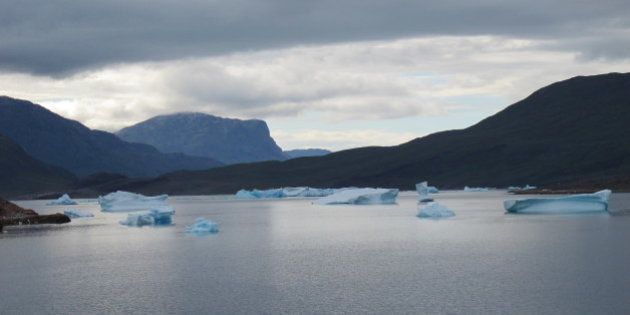 Groenlandia se rompe en pedazos de