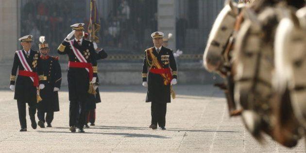 Pascua Militar: el Rey recupera el protocolo