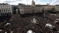 Podemos reúne en Madrid a decenas de miles de personas en su 'Marcha del