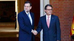 Rajoy y Mas se reúnen en La