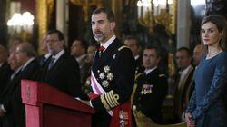 Felipe VI dedica su discurso en la Pascua Militar a su