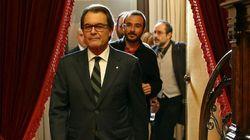 El Parlament de Cataluña rechaza la investidura de