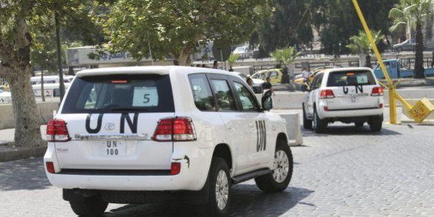 Los expertos de la ONU llegan al Líbano tras concluir su misión en