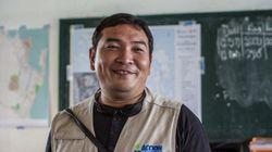 Reconstruyendo vidas en Filipinas: Jasper Oliva, el héroe del tifón que se hizo