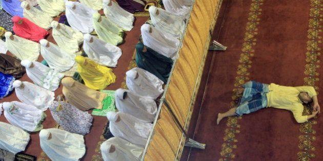 15 imágenes curiosas del inicio del Ramadán