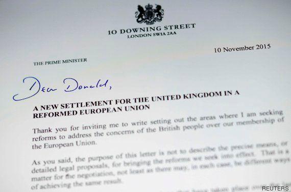 'Brexit': Las cuatro demandas de Cameron para no salir de la UE que Bruselas ve