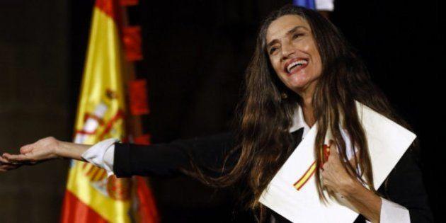 Ángela Molina recibe el Premio Nacional de