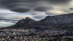 Las misteriosas nubes-ovni que han intrigado a Sudáfrica
