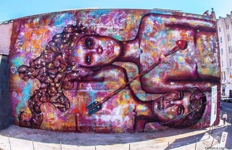 Esta artista brasileña busca dar poder a las mujeres de todo el mundo mediante