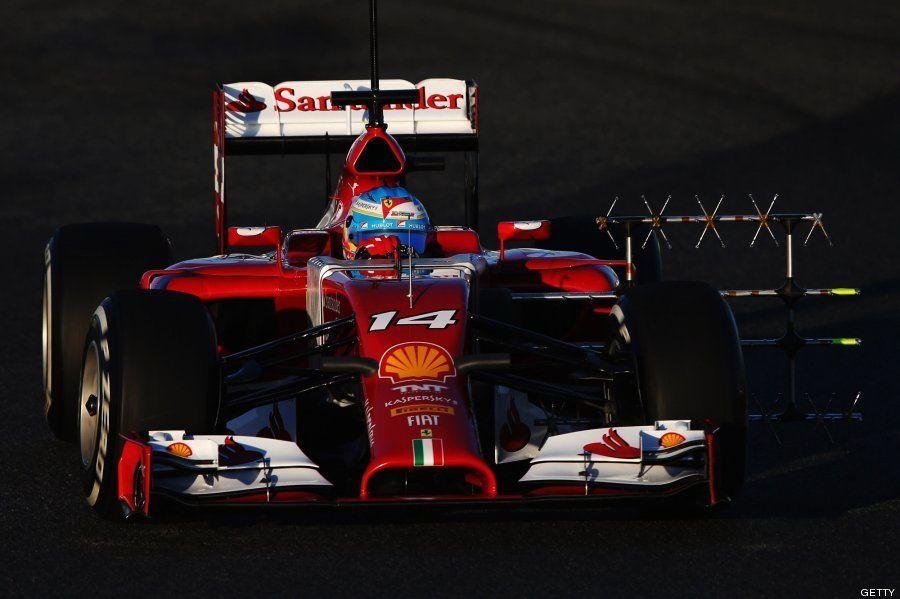 Así ha sido el estreno de Fernando Alonso con su nuevo Ferrari
