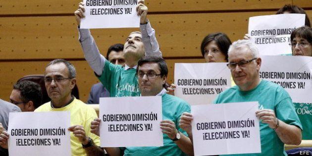 Cayo Lara cree que las explicaciones de Rajoy en el Congreso