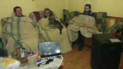 La lucha de 120 familias que encaran el frío invierno en Zamora sin calefacción ni agua