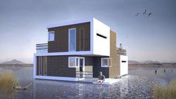 Así es la casa que se divide en dos partes en caso de