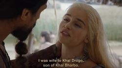 Khal Drogo vuelve de la tumba para decir lo que piensa sobre ESTA