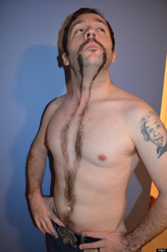 El bigote hasta la barriga despide 'movember' en internet