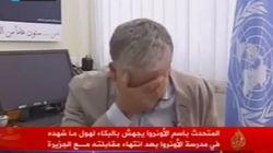 El portavoz de la UNRWA en Gaza rompe a llorar en directo