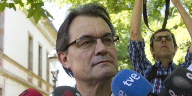 Mas contesta a Rajoy:
