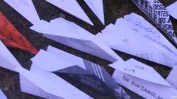Aviones de papel: La forma de protesta de los españoles en Uruguay