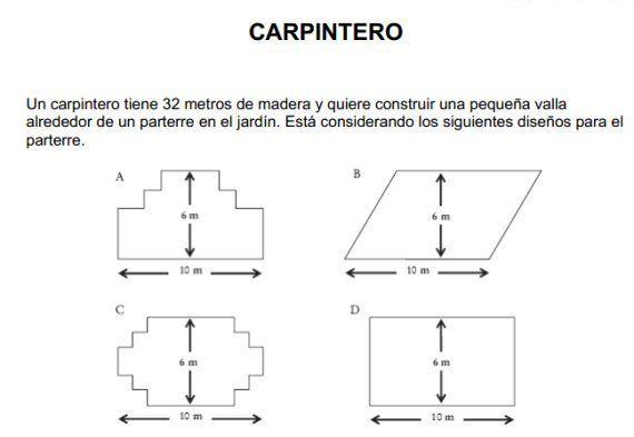 Preguntas PISA 2012: 32 ejemplos de matemáticas, lectura y