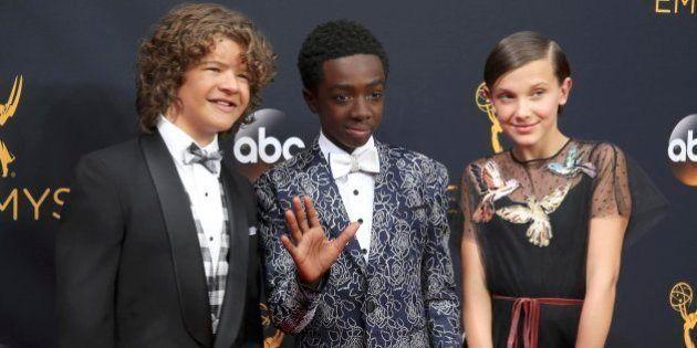 Los niños de 'Stranger Things' conquistan los Emmy