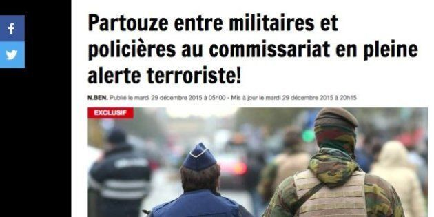 Soldados y policías hicieron una orgía en plena alerta máxima, según varios
