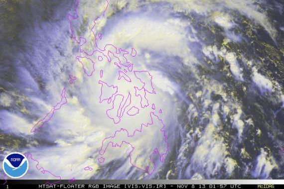 ¿Es el cambio climático el culpable del Tifón Haiyan en