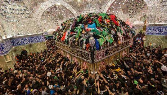 Las imágenes de la peregrinación de millones de chiíes a Kerbala