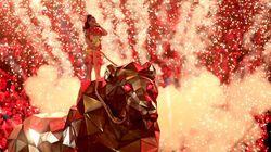La actuación de Katy Perry en la Super Bowl con Missy Elliot, Lenny Kravitz y