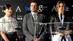 Sorpresas, tequila y besos al 'cabezón': las reacciones a las nominaciones a los Goya