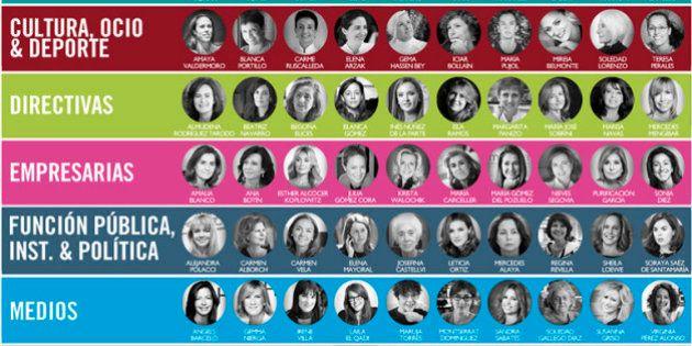 Ellas son las 100 mujeres más influyentes de España