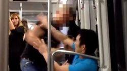 Detenido el autor de la agresión racista en el metro de Barcelona