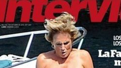 Si pinchas aquí vas a ver a Mercedes Milá en topless en Interviú (FOTO,