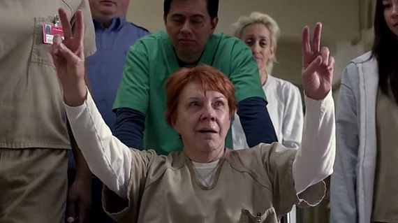 'Orange is the new black', cuerda de