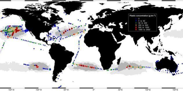 Hay plástico en todos los mares del mundo: ¿Adónde va tanto