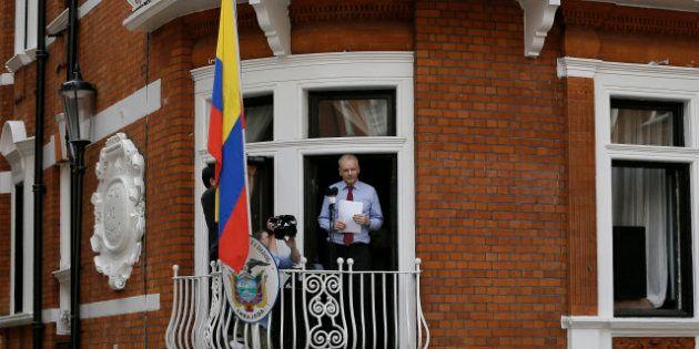La vida de Julian Assange refugiado en la embajada,