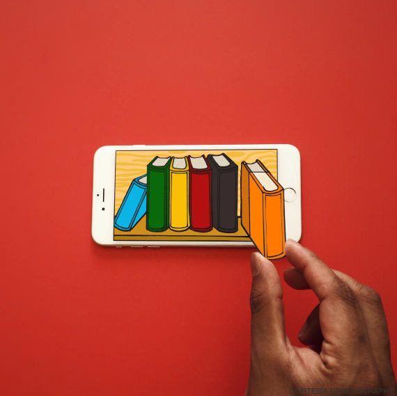 Moography: el artista que convierte el iPhone en cualquier objeto imaginable