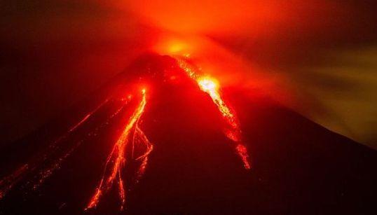 Mira las espectaculares fotos de la erupción del 'Volcán de