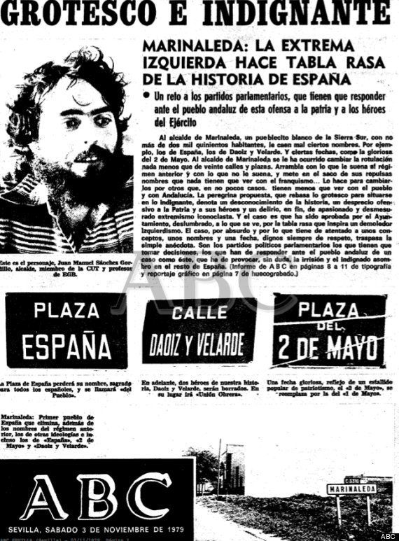 Sánchez Gordillo sobre la portada de 'La Razón':