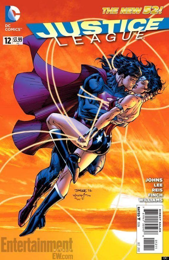 Superman y Wonder Woman: el nuevo romance en DC